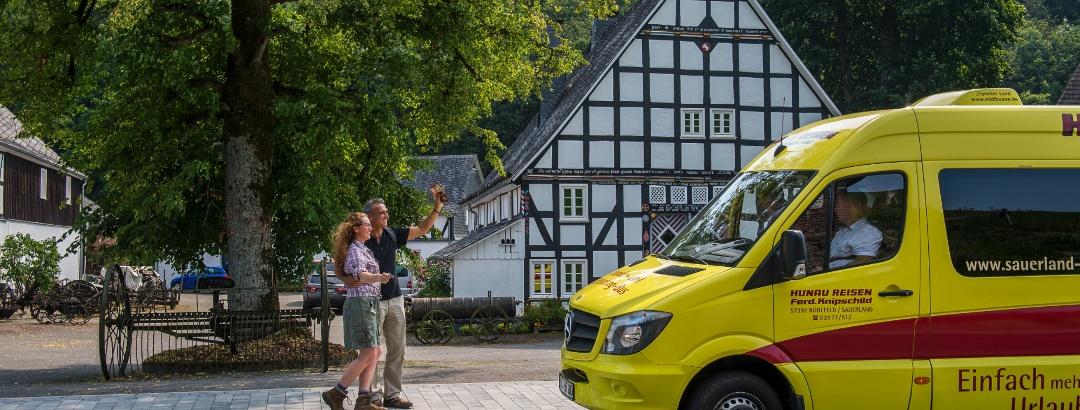 Wanderbus im Schmallenberger Sauerland