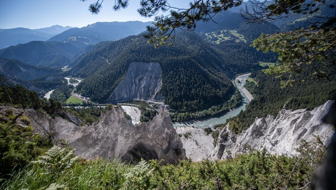 Blick in die Rheinschlucht | Route 260