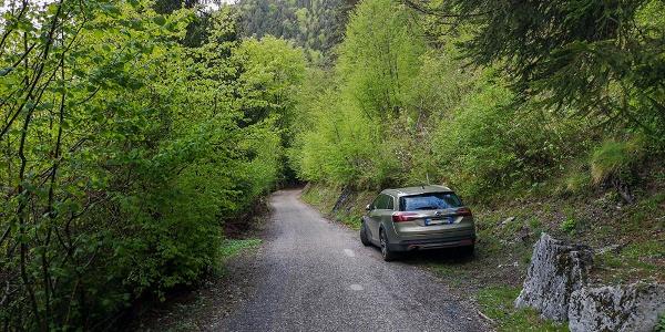 Parcheggio con pochissimi posti