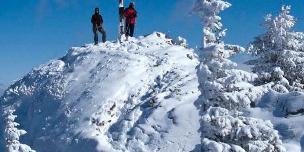 Gipfelrast auf dem Rauhkopf