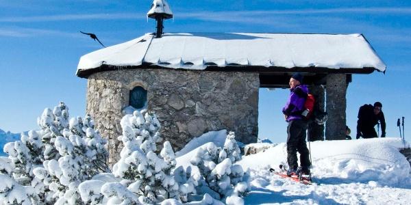 Die Kapelle auf dem Fahrenbergkopf