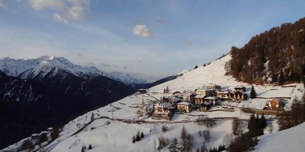 L'incantevole borgo di Ortise'