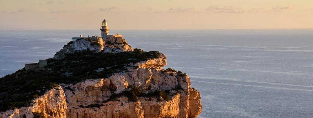 Leuchtturm Capo Caccia auf Sardinien