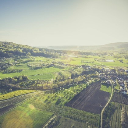 Wandern im Walberla in der fränkischen Schweiz