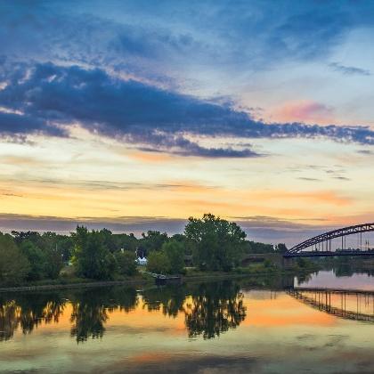 Sternbrücke in Magdeburg (Sachsen-Anhalt)