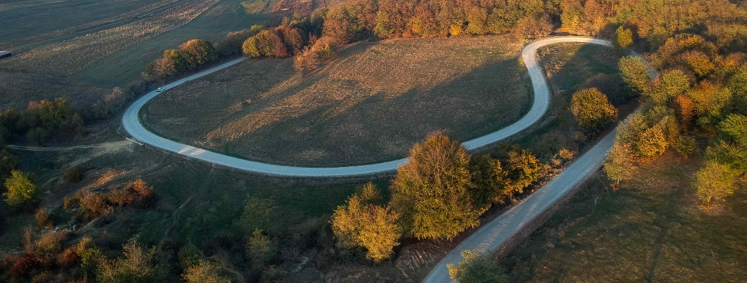 Șosele șerpuitoare în Bihor