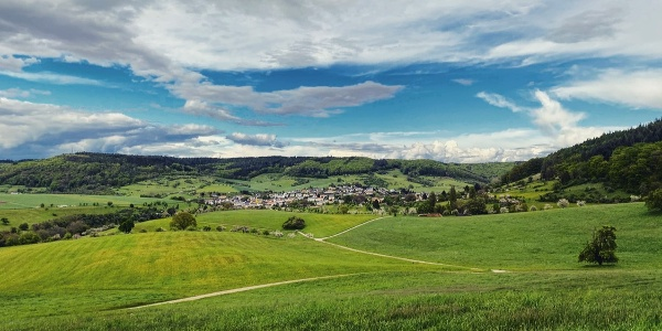 Eindrucksvoller Ausblick auf Holsthum