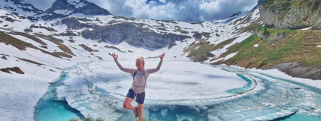 Wandern am Spilauersee in Uri