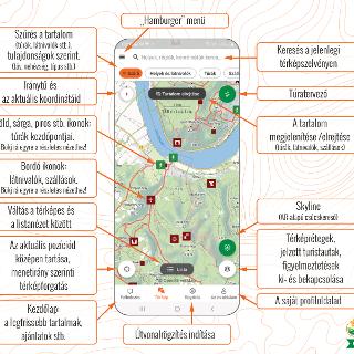 App használati útmutató - térkép