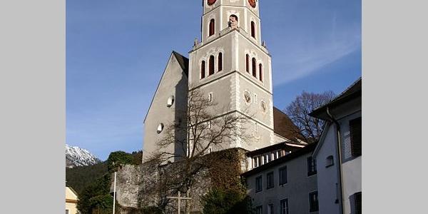 Bludenz, Katholische Pfarrkirche Heiliger Laurentius 1