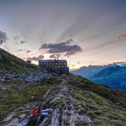 Olperer Hütte in der Nähe von Mayrhofen
