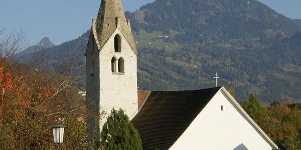 Bludesch, Katholische Filialkirche Heiliger Nikolaus in Zitz