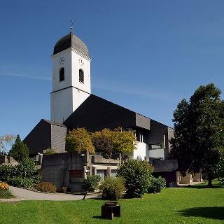 Göfis, Katholische Pfarrkirche Heiliger Luzius 1