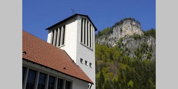 Lorüns, Katholische Pfarrkirche Heiliger Johannes Nepomuk 1
