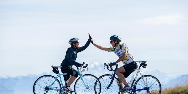 Cyclistes Col