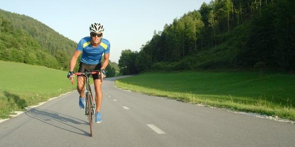 Cycliste Col
