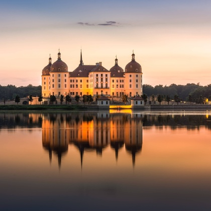 Wandern in Moritzburg / Schloss Moritzburg