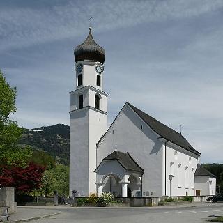 Schlins, Katholische Pfarrkirche Unsere Liebe Frau Unbefleckte Empfängnis
