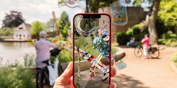 Augmented Reality von Tim Berresheim am Gondelweiher in Wassenberg