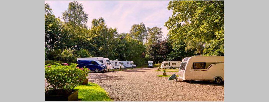 Balbirnie Park Caravan Club Site