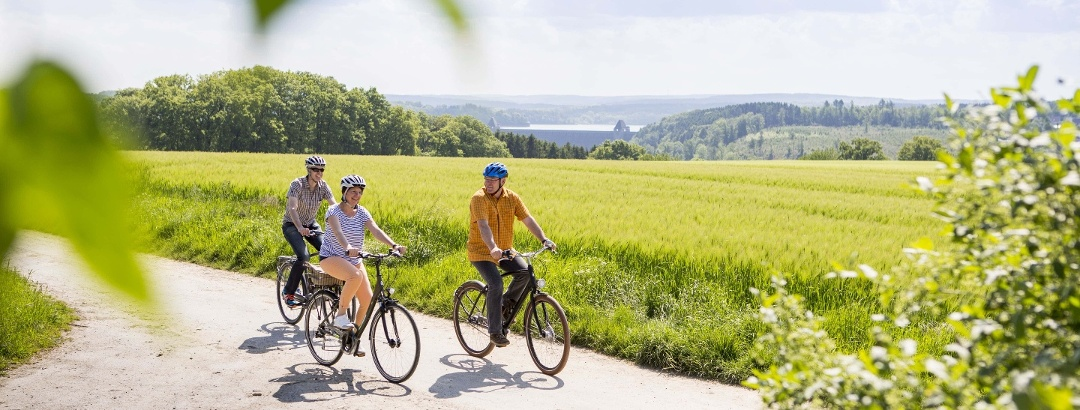 Radfahrer im Kreis Soest