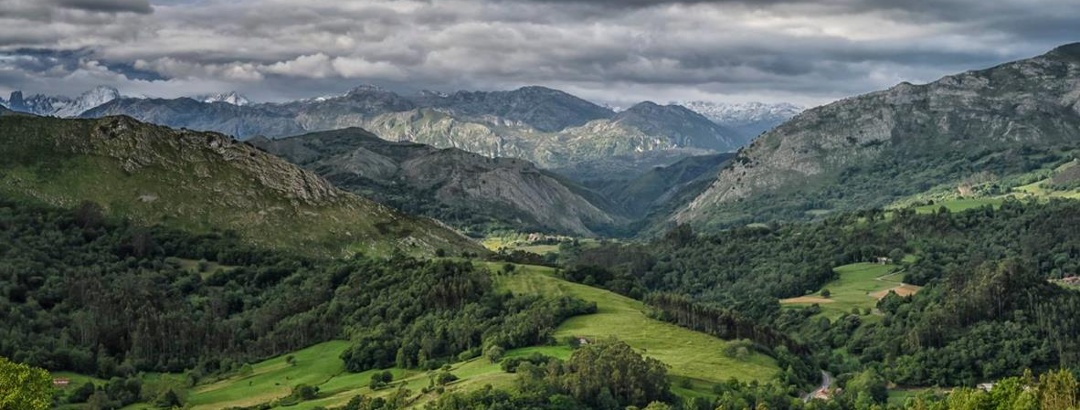 Mountains in Green Spain