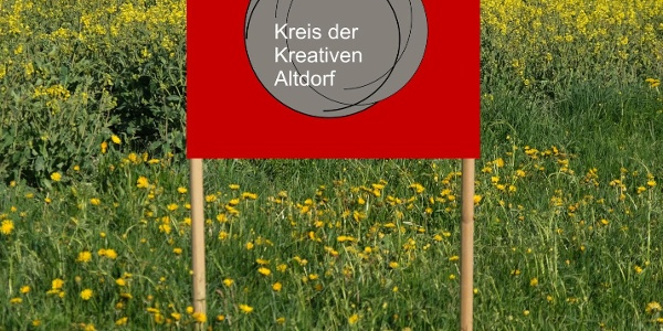 Plakat zum Kunstrundgang