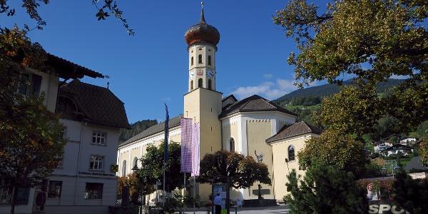 Schruns, Katholische Pfarrkirche Heiliger Jodok