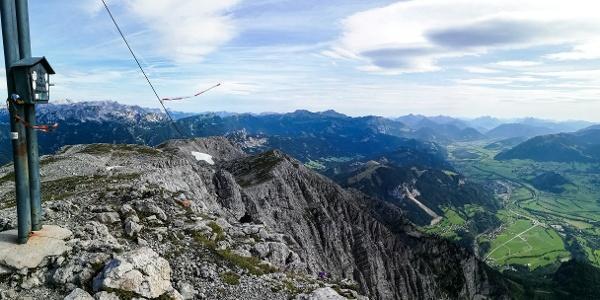 Die Belohnung für 1700 Höhenmeter Aufstieg.
