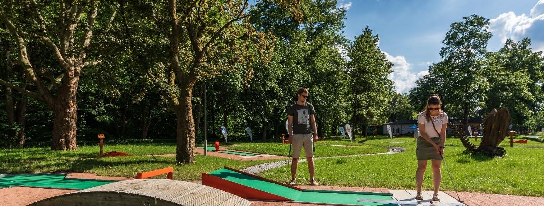Minigolf im Kurpark Bad Lauterberg