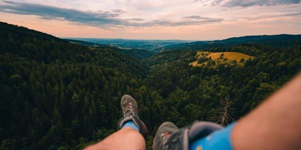 Ausblick vom imposante Plateau