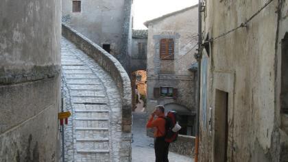 Aufbruch aus Calvi dell' Umbria