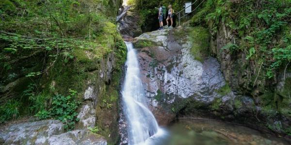 Edelfrauengrab-Wasserfälle
