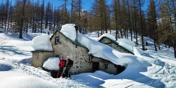 """ski tour through the """"Bodme"""""""
