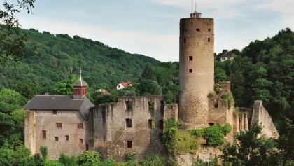 Die Burg Eppstein