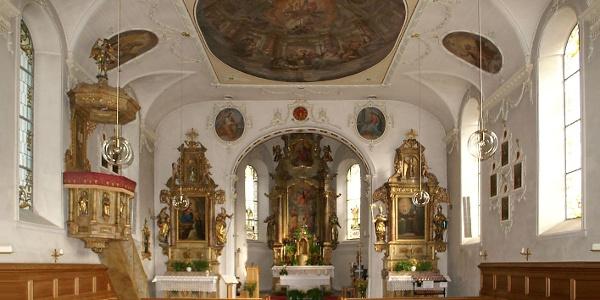 Schoppernau, Katholische Pfarrkirche Heiliger Philippus und Heiliger Jakobus 3