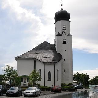 Sulzberg, Katholische Pfarrkirche Heiliger Laurentius 2