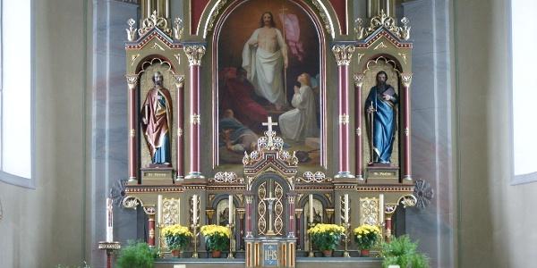 Sulzberg, Katholische Pfarrkirche Heiliger Franz Xaver 2