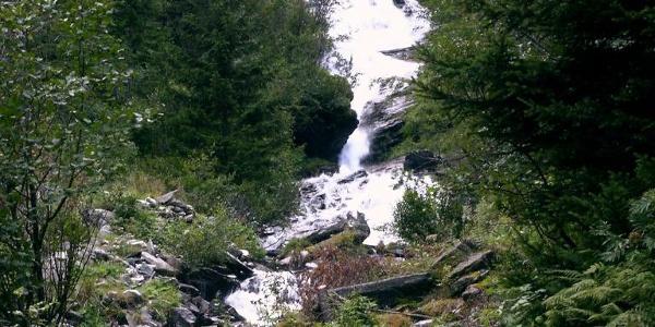 Lasörn-Wasserfall
