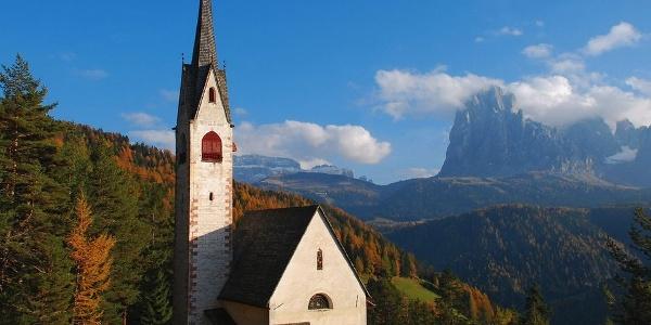 Die Jakobskirche bei St.Ulrich in Gröden