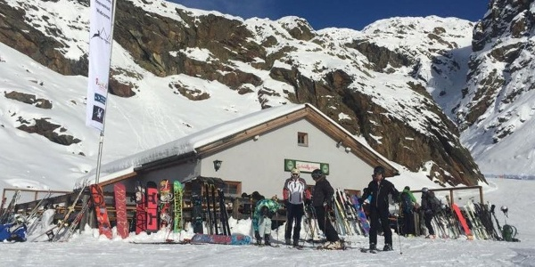The Teufelsegg mountain hut in Val Senales - a reccomended place!