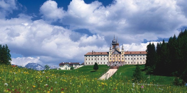 Madonna di Pietralba - Maria Weißenstein, the most popular pilgrimage site in South Tyrol