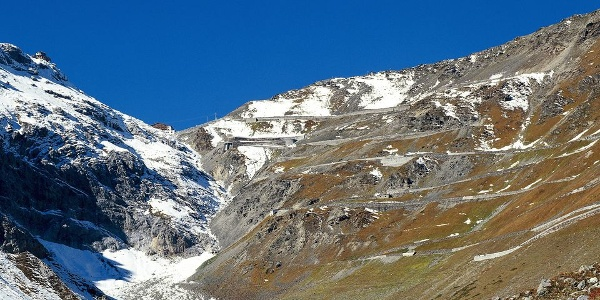 The Stelvio National Park is one of the largest protected areas in Europe