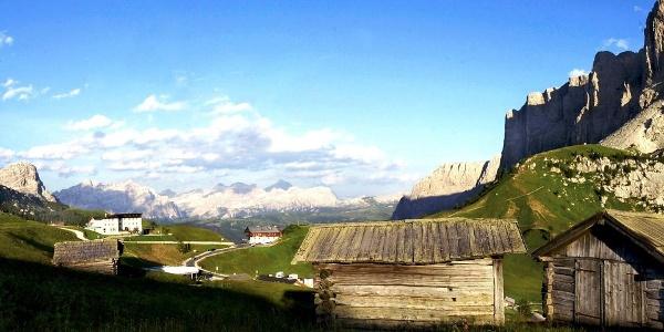Ein idyllischer Dolomitenübergang auf 2121 Meter ü.d.M..Meer