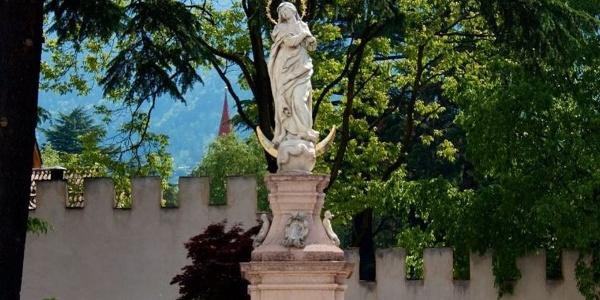 The Marian column on Sandplatz court in Merano.
