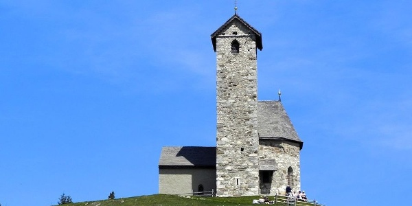 St. Vigilius is one of the highest Churches in South Tyrol.