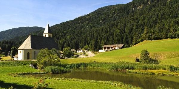 Das Biotop Widummoos liegt gleich hinter der Wallfahrtskirche in Unsere Liebe Frau im Walde.