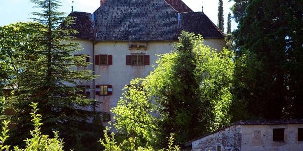 Schloss Gandegg in Eppan entspricht im Stil oberitalienischen Festungsanlagen.