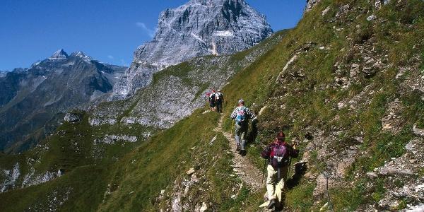 Der Große Pflerscher Höhenweg mit Tribulaun