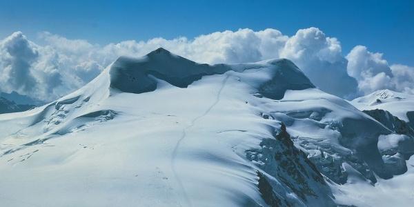 Nicht immer möglich: die Besteigung des Gipfels